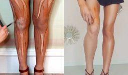 Bacak makyajı nasıl yapılmaktadır?
