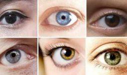 Göz renklerinin karakter analizleri, Gözrenkleri ve Karakterleri