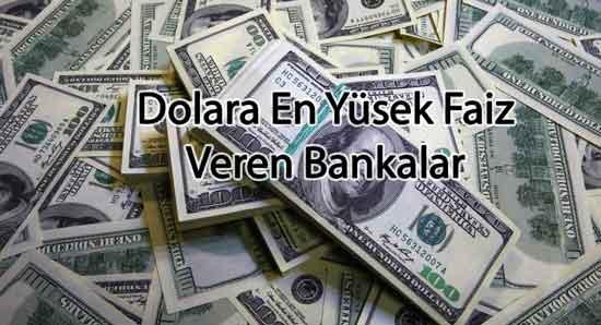 Dövize En Yüksek Faiz Veren Bankalar Hangileridir?