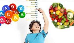 Çocukların Uzun Boylu Olmasına Yardımcı Gıdalar