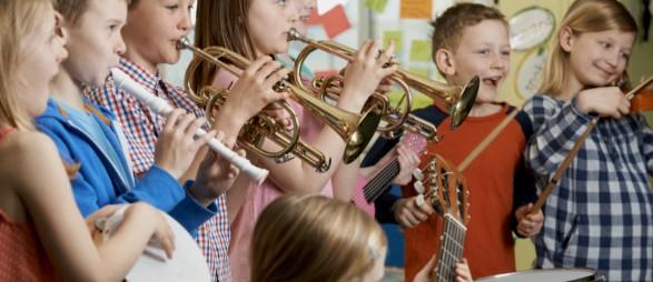 Çocuklarda Müzik Aleti Eğitimi