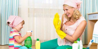 Çocuklu Evlerde Dikkat Ve Temizliğin Önemi