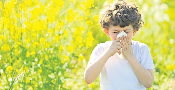 Yazın Çocuklarda Görülen Yaz Alerjisi